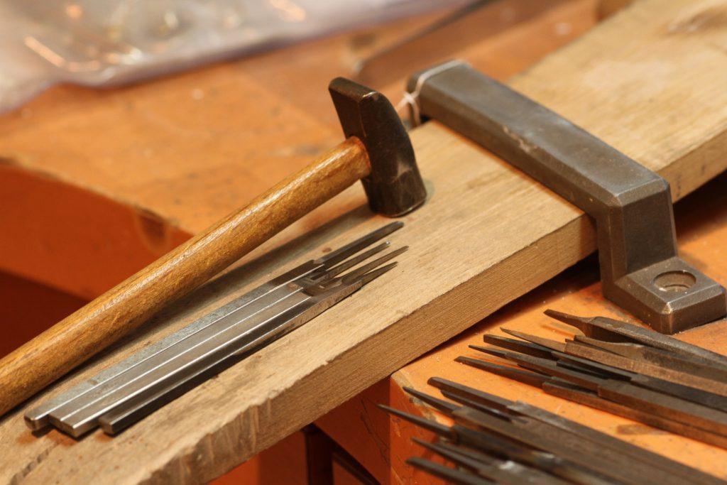 ジュエリーの工具 超硬タガネ