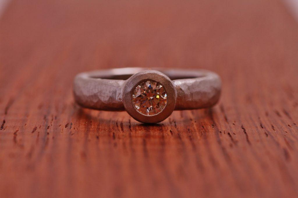 マルコムベッツ風に指輪のリフォ―ム