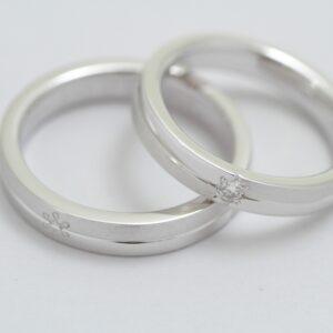 オーダーメイド 結婚指輪 完成