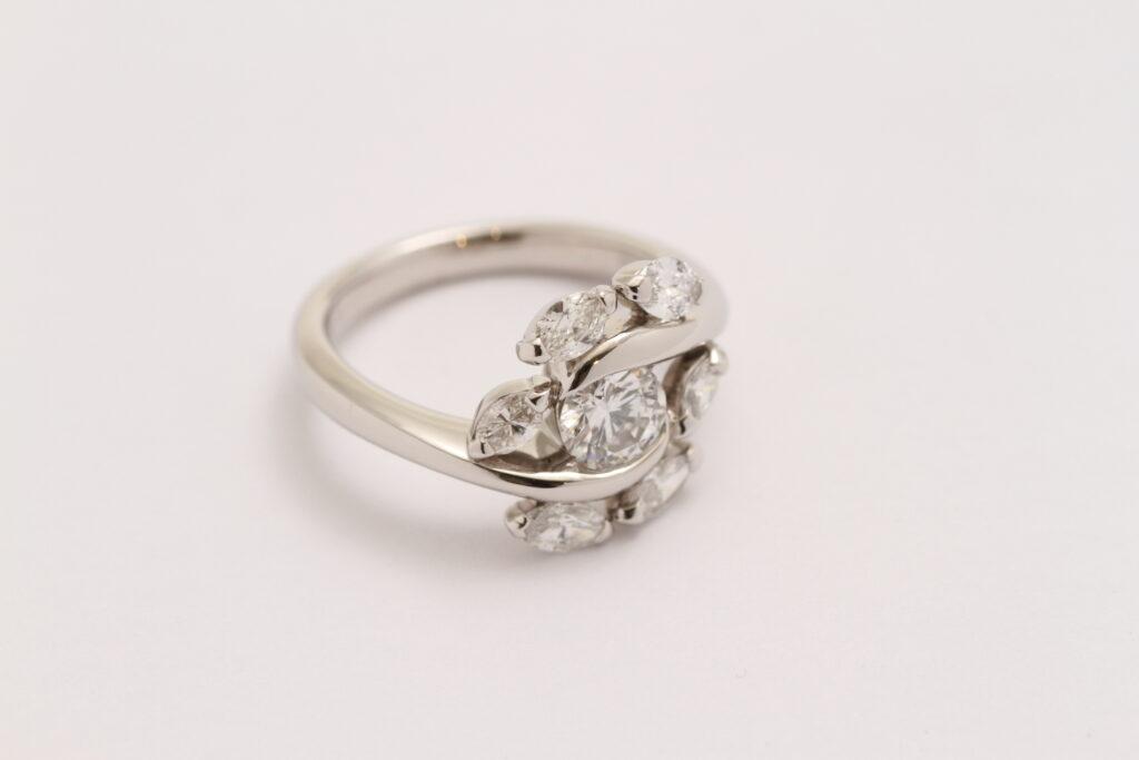 ダイヤモンドオーダーメイド指輪