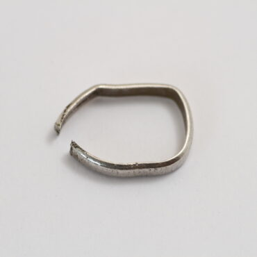 プラチナ指輪変形 リペアー ビフォアー