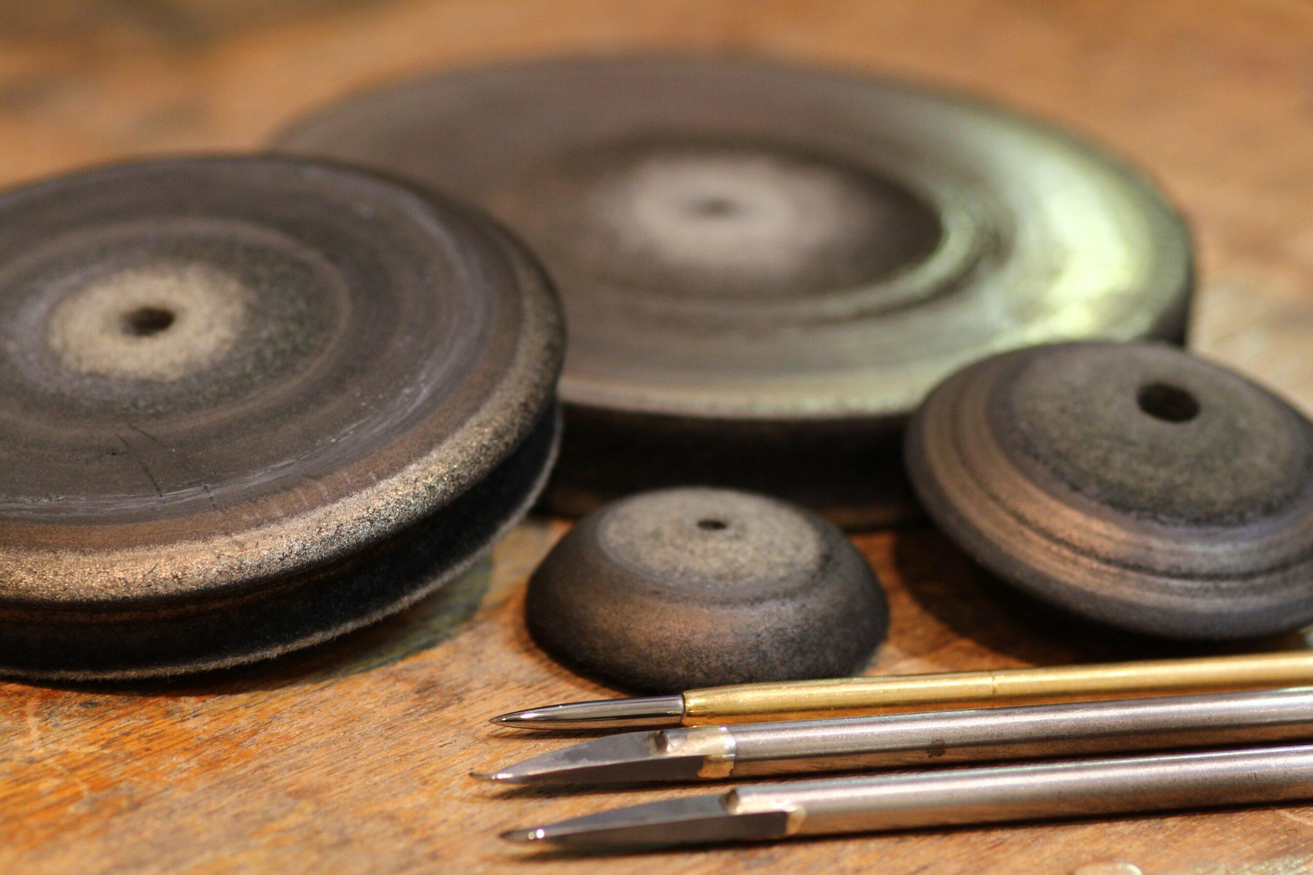 27年間使っている道具 彫金工具