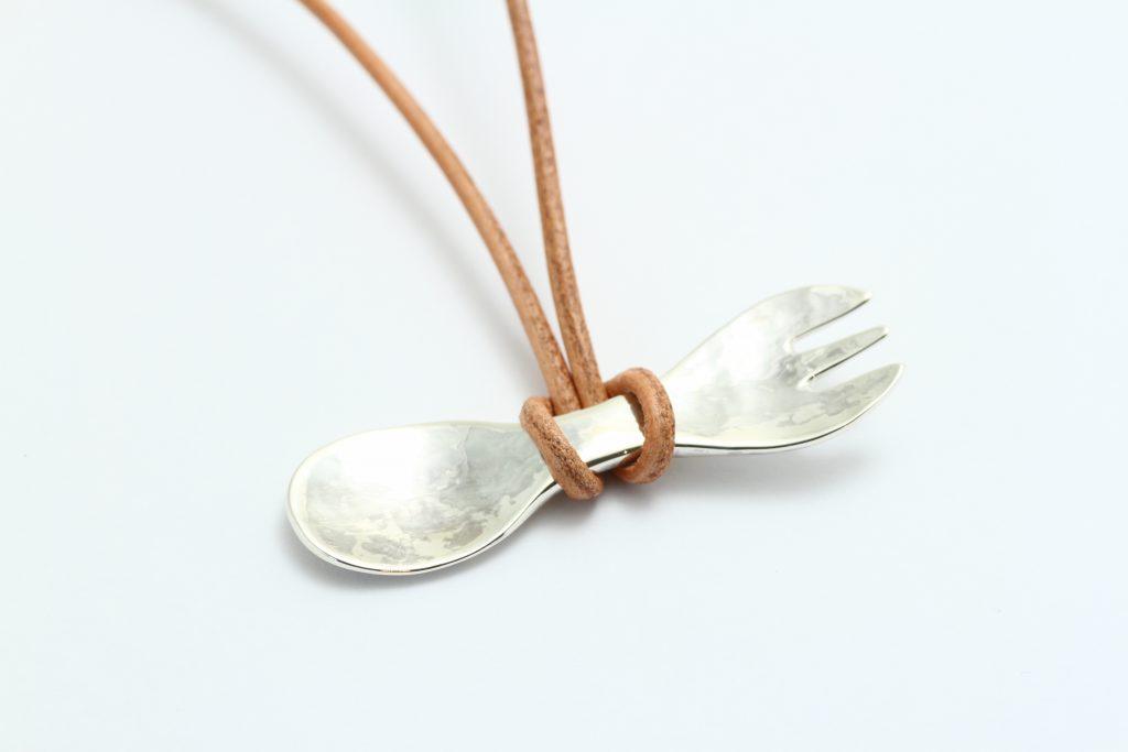 ジュエリーTAKA 手作り銀のスプーン&フォーク