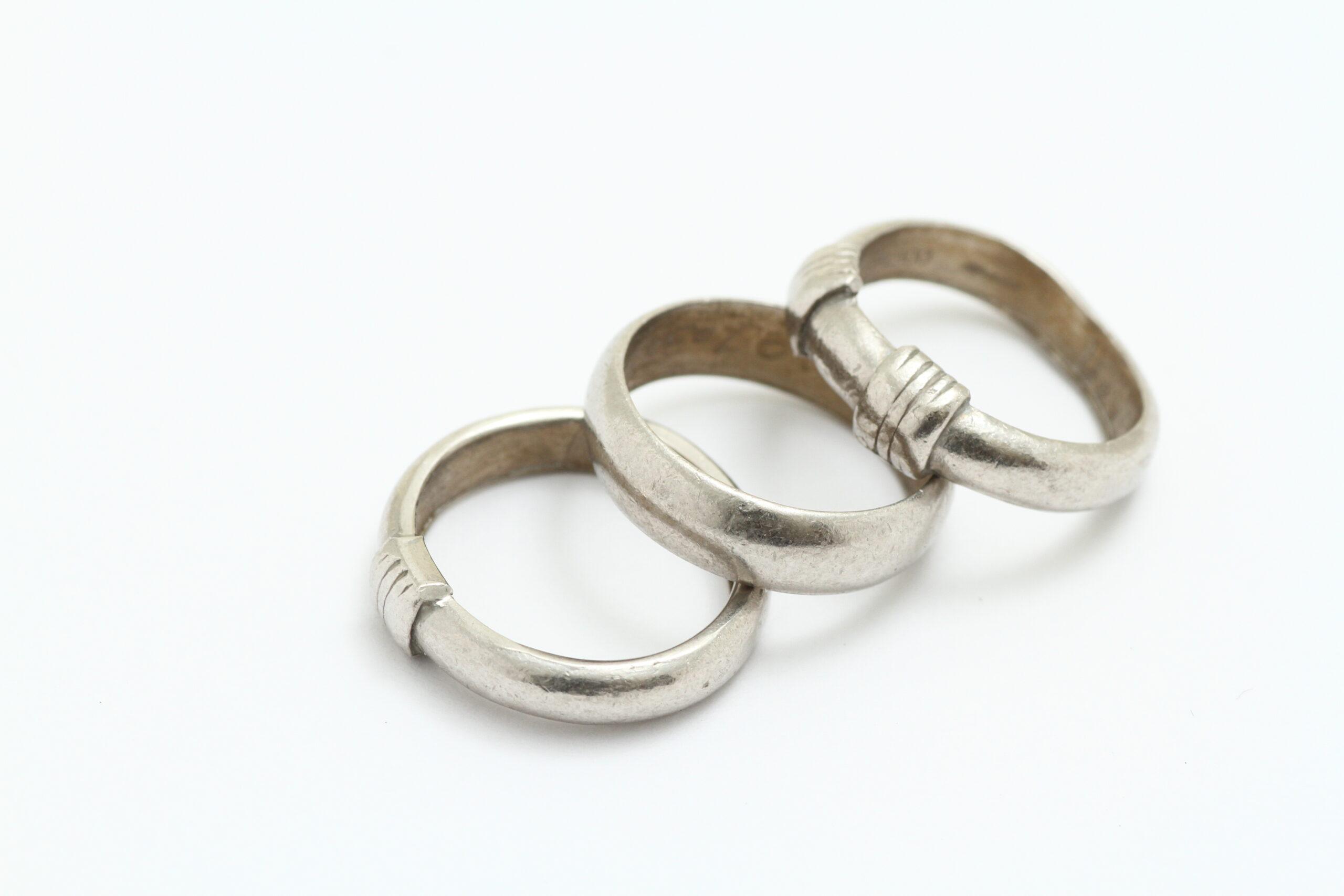 プラチナの指輪 修理 サイズ直し