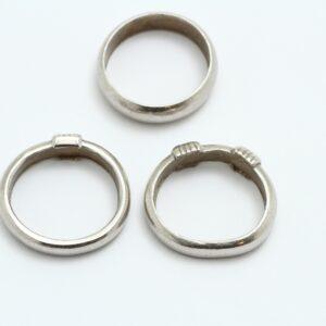 指輪の修理 プラチナリング ビフォアー