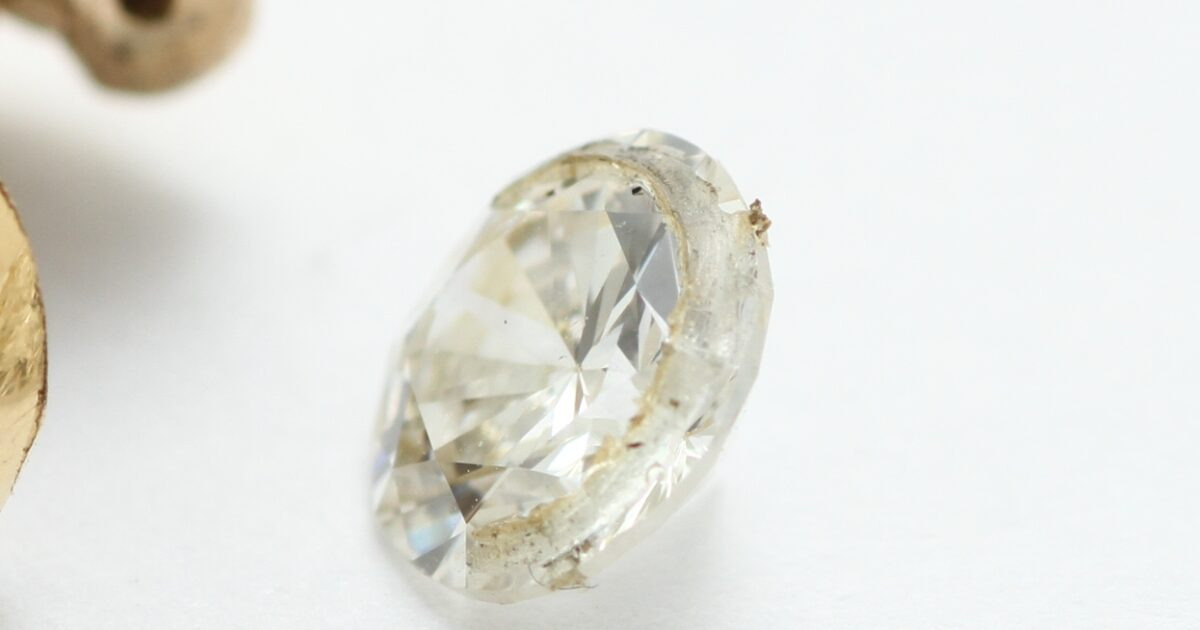 ダイヤモンド 有り得ない施行