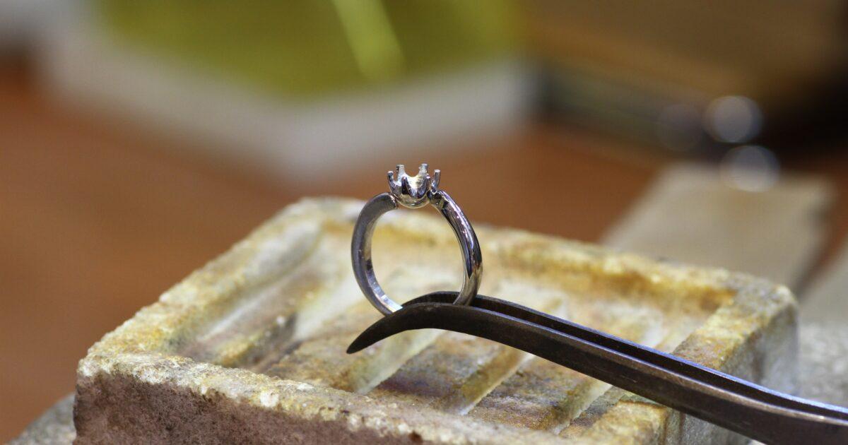 婚約指輪 製作シーン