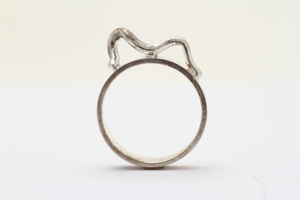 私が生まれて初めて作った指輪