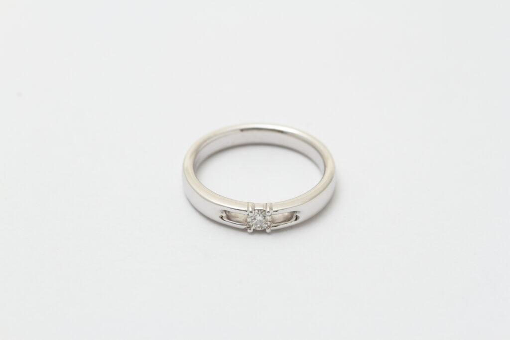 指輪 ダイヤ抜け 修理アフター
