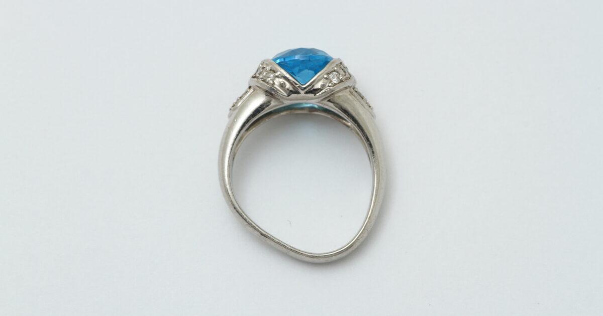 ブルートパーズの指輪 超変形 ビフォアー