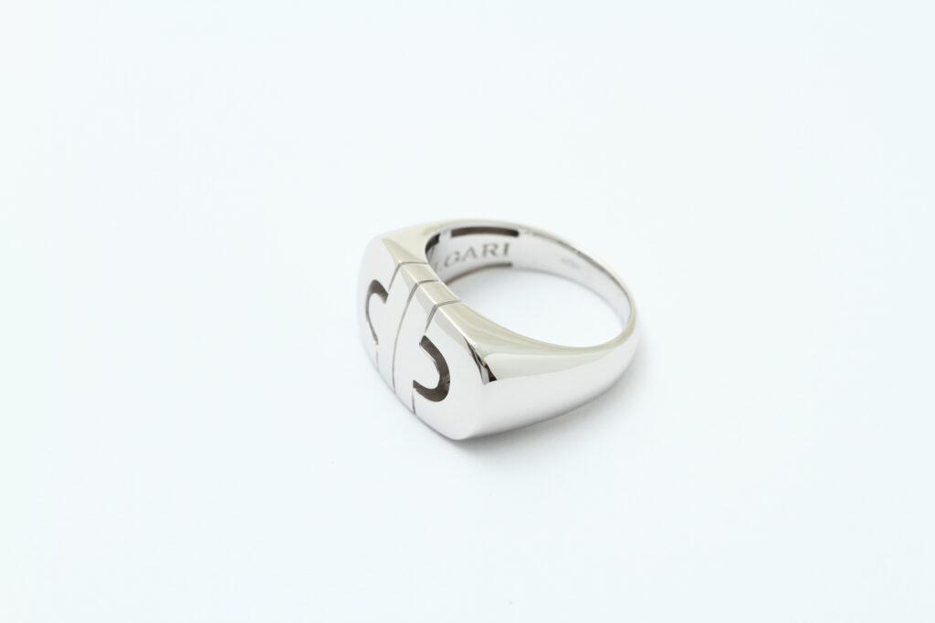 ブルガリの指輪 サイズ直し アフター