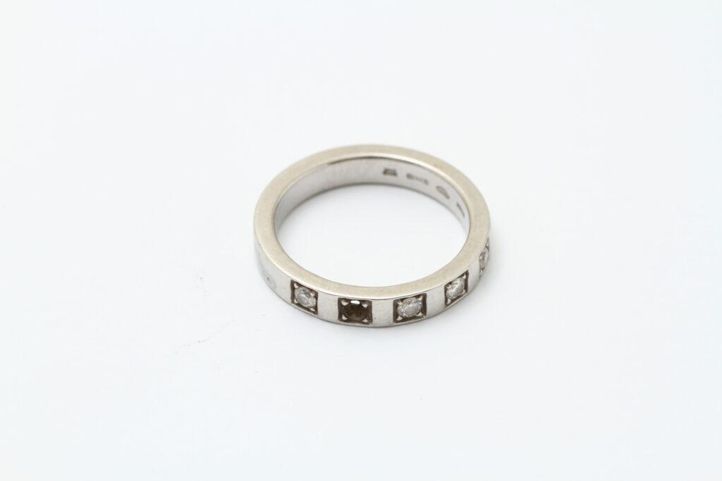 ジュエリーの修理 指輪のフルメンテナンス