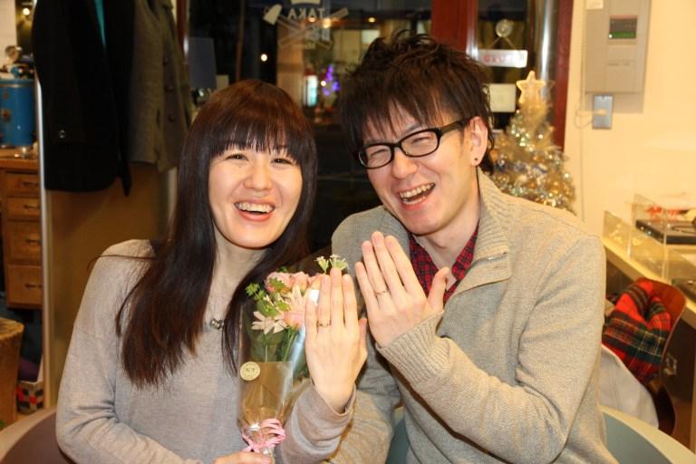 写真:東京在中のお客様 感動の瞬間