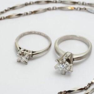 ダイヤモンドのジュエリーリフォーム