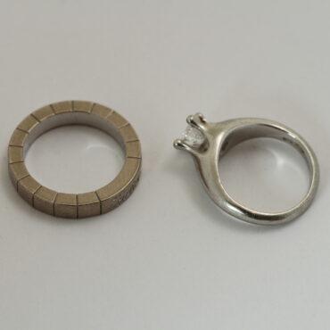 指輪修理 新品仕上げ before