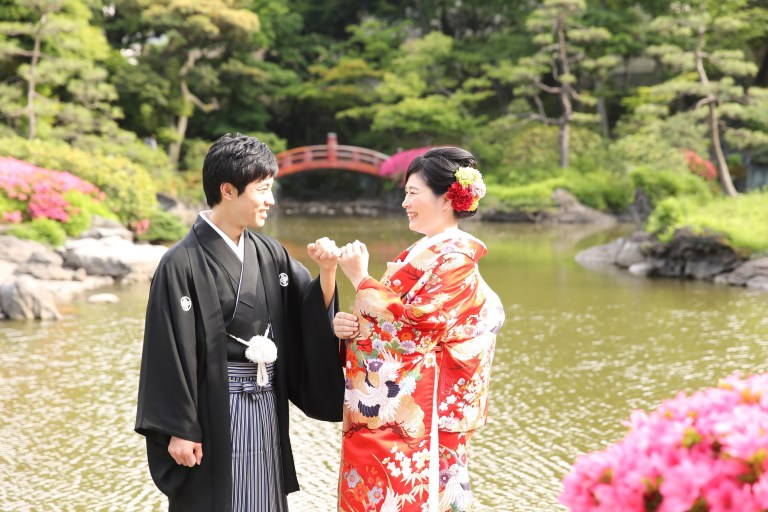 写真:東京~現在ベルギー在中のS様ご夫妻 結婚式