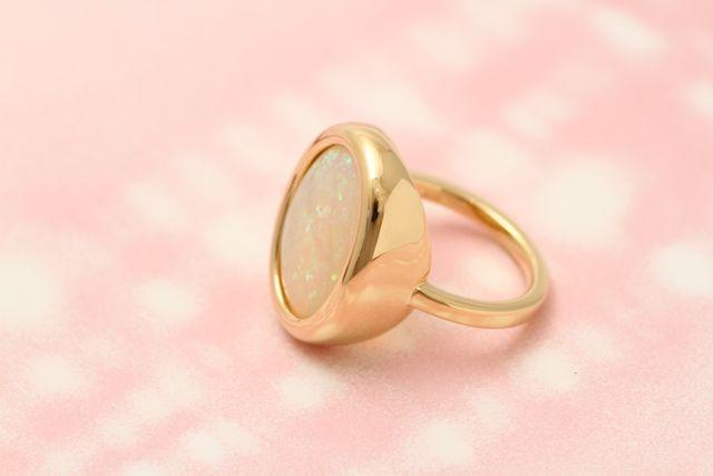 オパール指輪完成です!