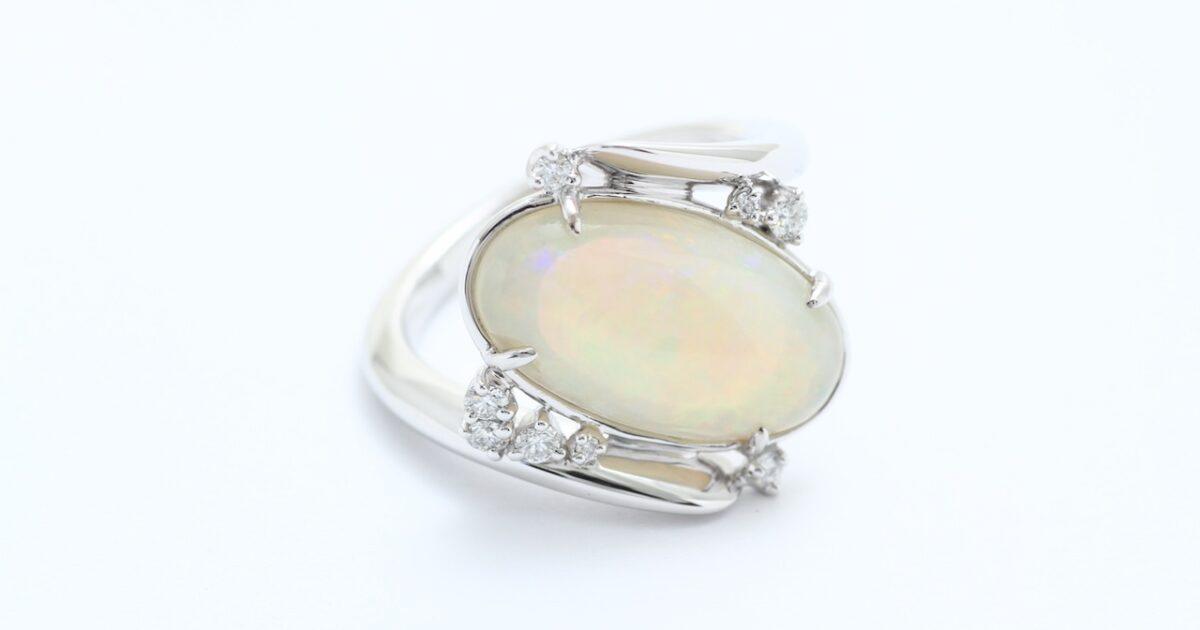 オパール指輪