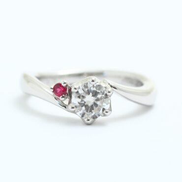 継承婚約指輪