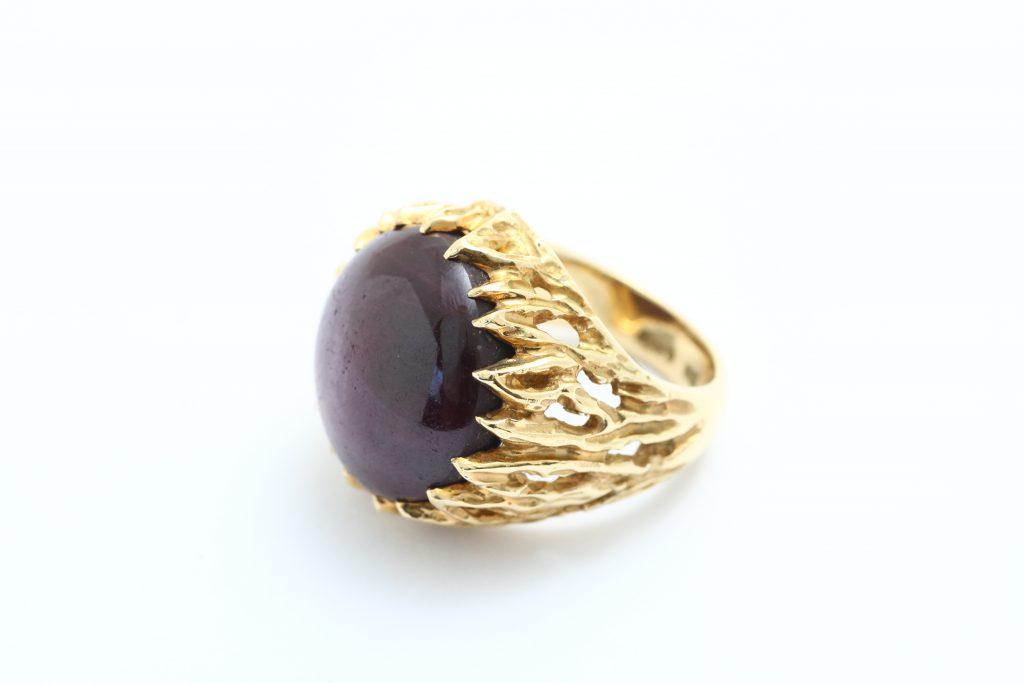 リフォーム前のルビー指輪