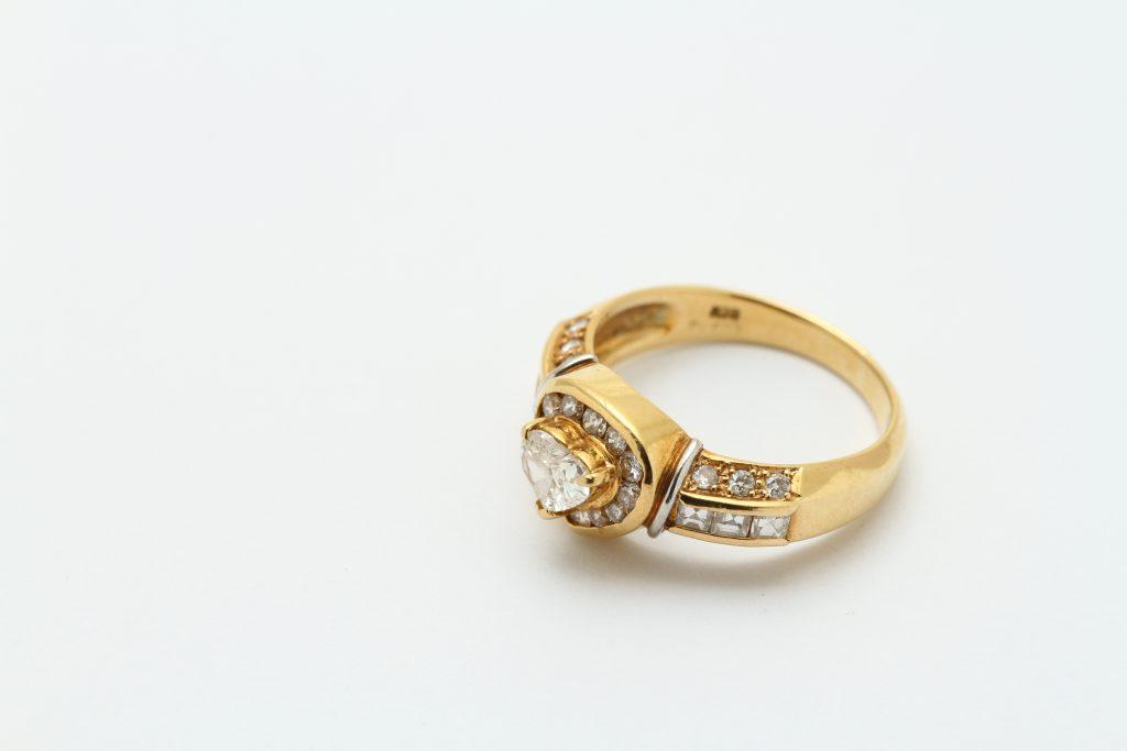 指輪サイズ直し ビフォアー