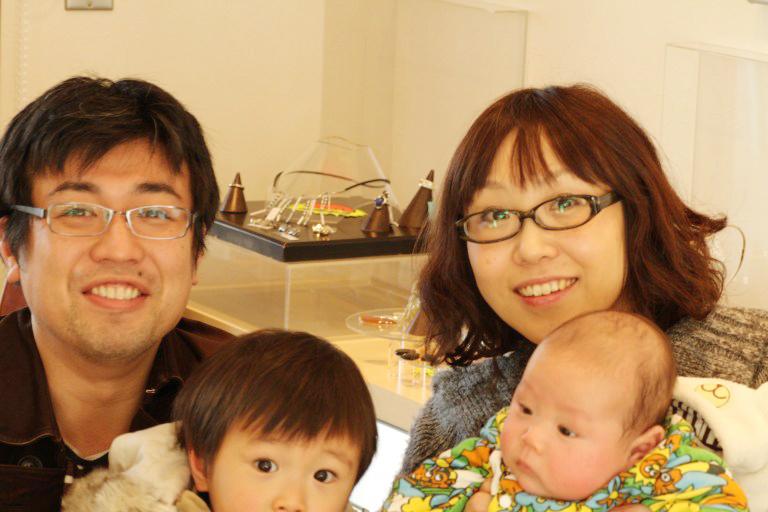 写真:ご家族でご来店の東京在住Y様
