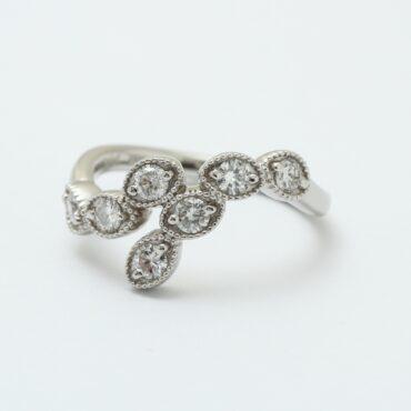 ダイヤ指輪 リフォームアフター