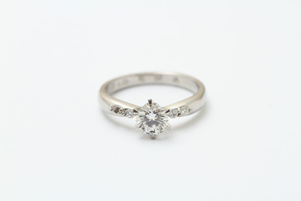 お持込みダイヤモンド指輪