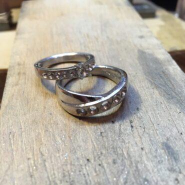 指輪 リフォーム ダイヤモンドセッティング