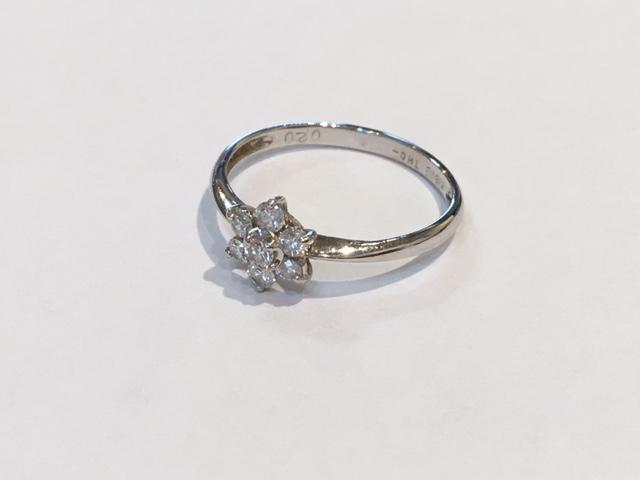 お持込みのダイヤ指輪