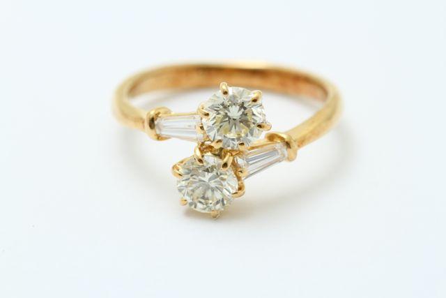 お持込みの古いダイヤモンドの指輪