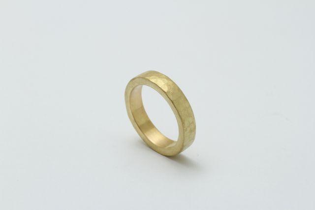 金の指輪土台