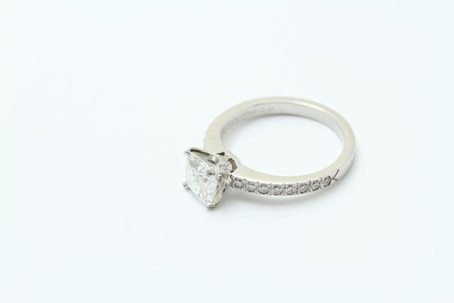 ダイヤモンド指輪リフォーム前