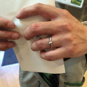キノコの結婚指輪 オーダーメイド