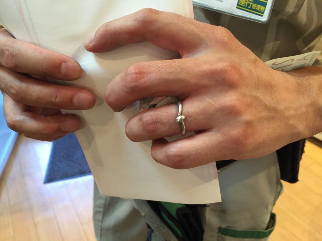 キノコの結婚指輪 オーダーメイドジュエリー