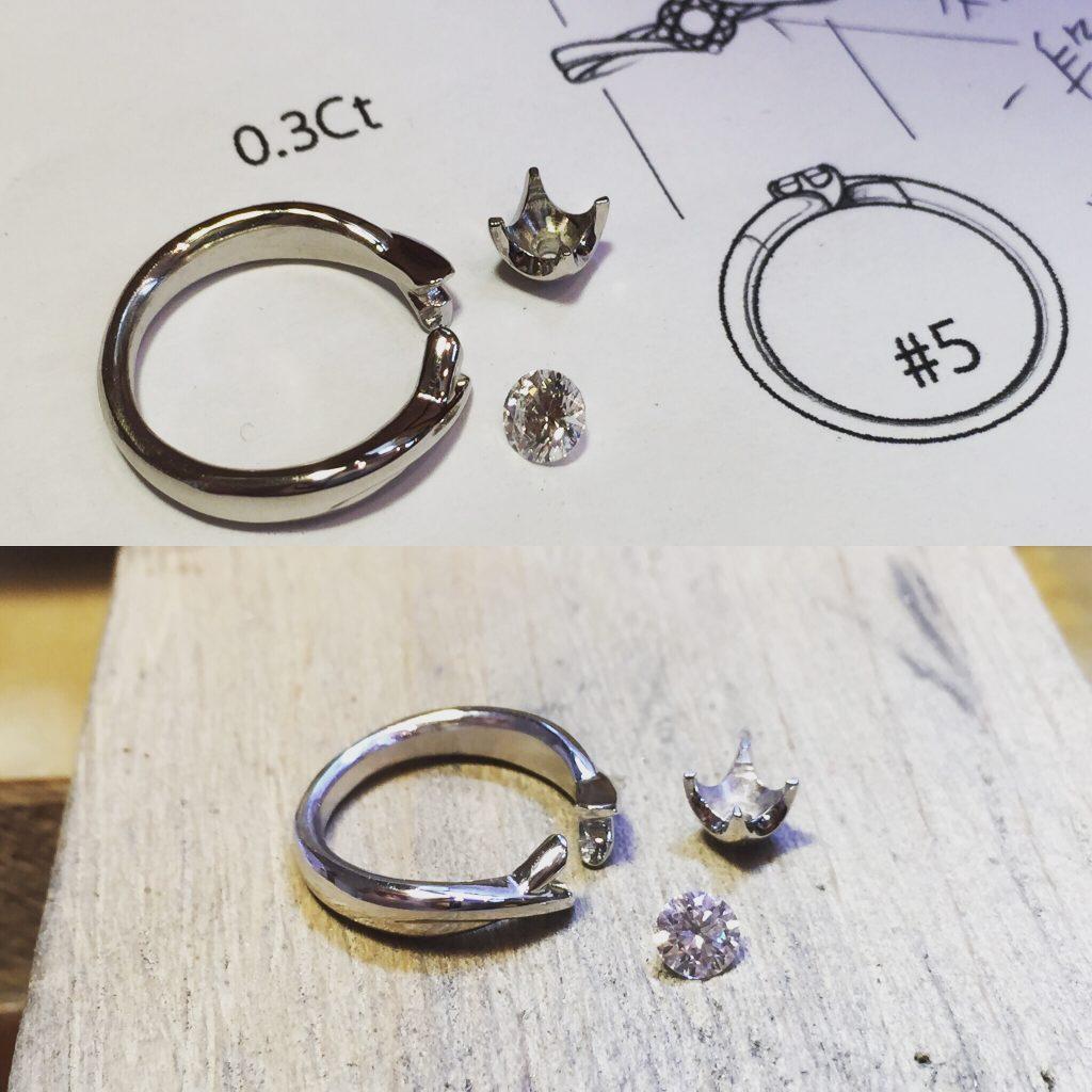 オーダーメイド婚約指輪 ジュエリーTAKA