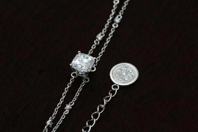 ジュエリーTAKAが製作したダイヤモンドのオーダーメイドブレスレット