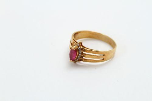 指輪のリフォーム ルビー