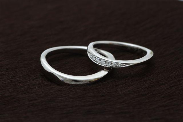 オートクチュール結婚指輪