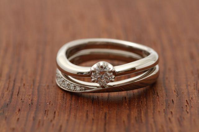オートクチュール婚約&結婚指輪