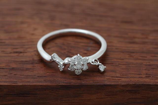 ダイヤ指輪リフォーム例