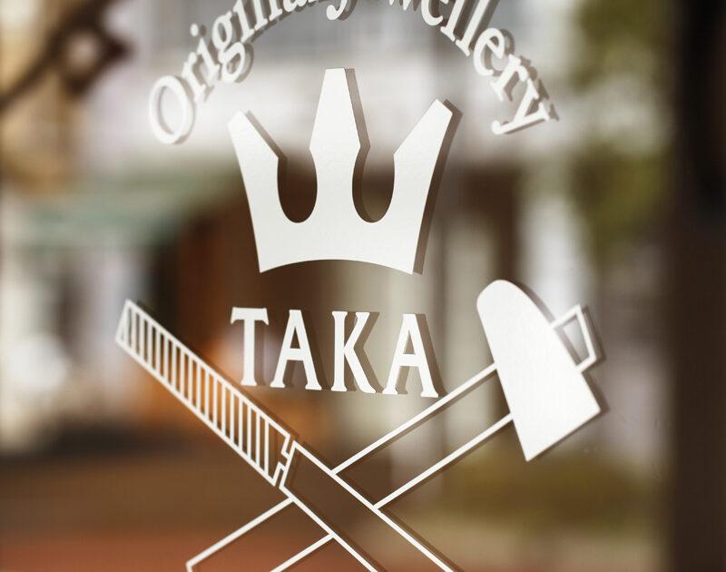 ジュエリーTAKA ロゴ 王冠マーク
