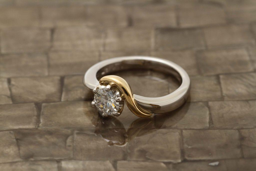 指輪を溶かして作った新しい指輪