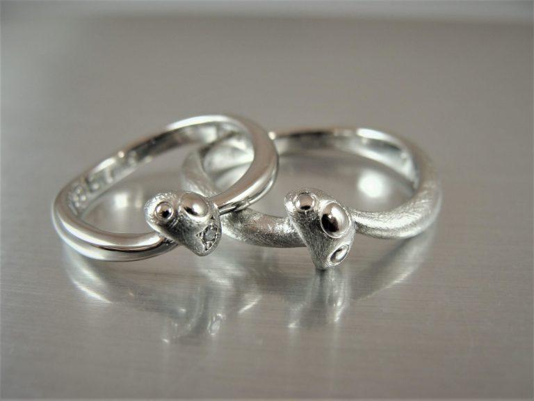 キノコの結婚指輪