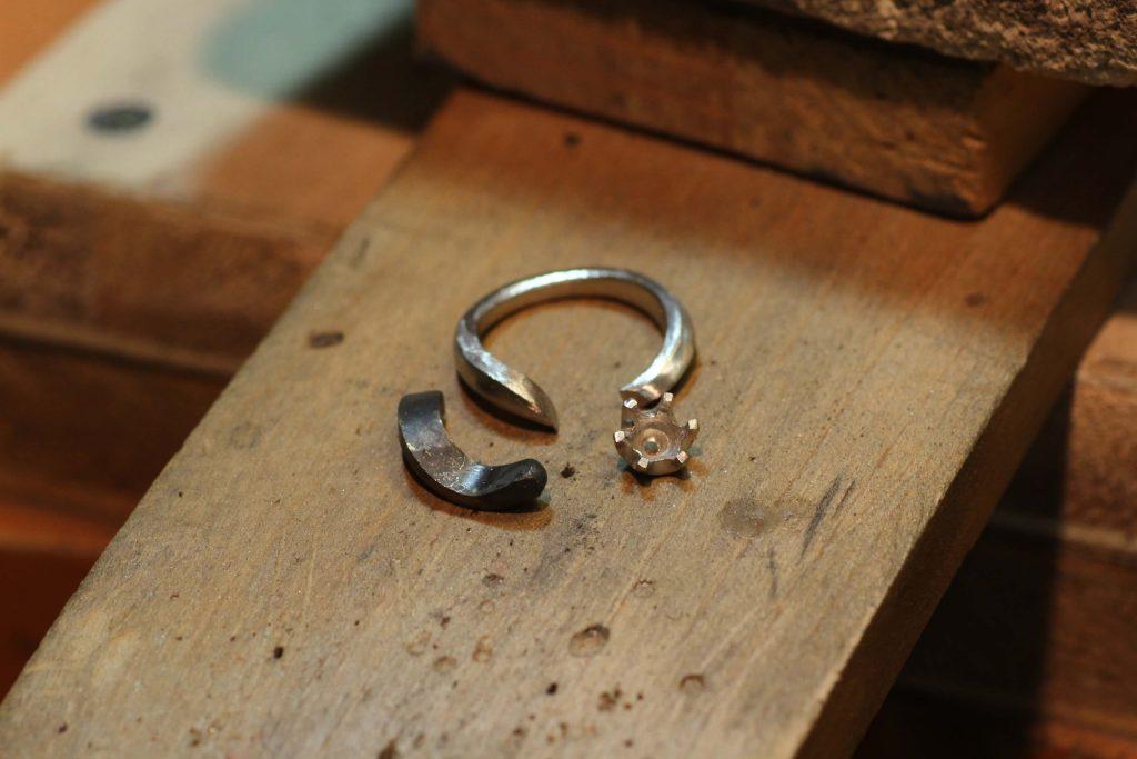 指輪製作に必要なパーツが揃いました
