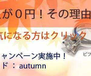 2017秋のキャンペーン