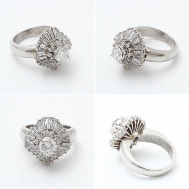 リフォームしたい指輪です。