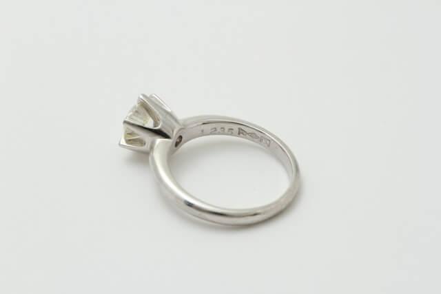 お持ち込み指輪です!