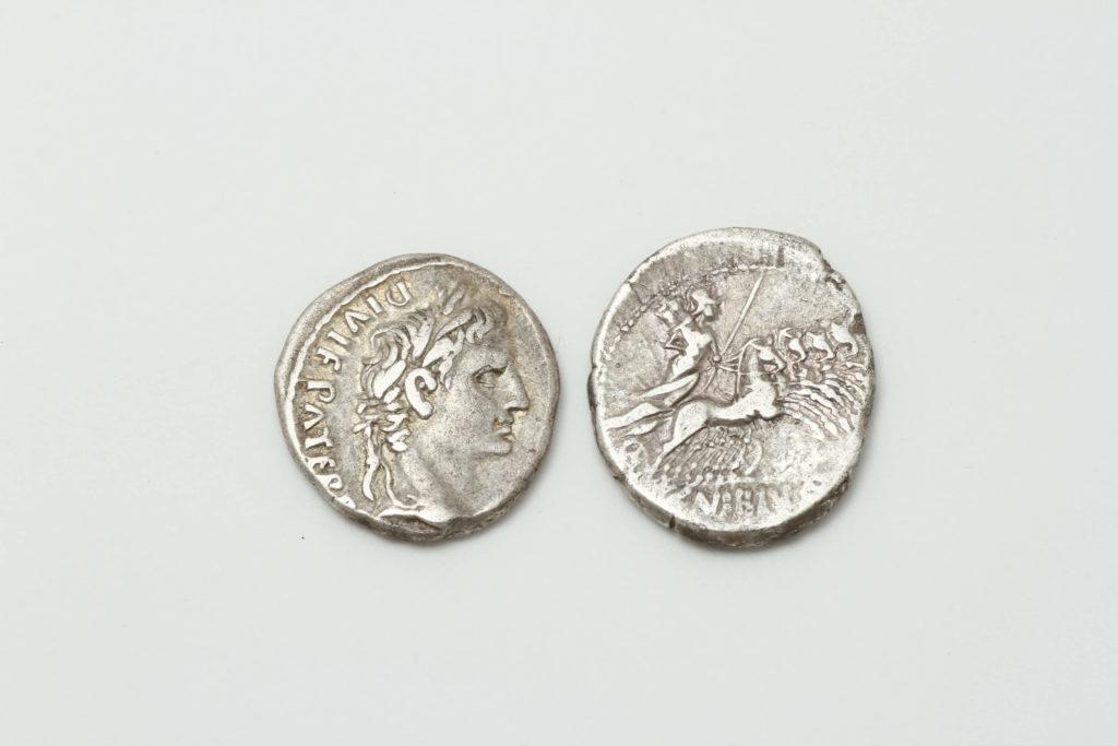ローマ時代のコインです!