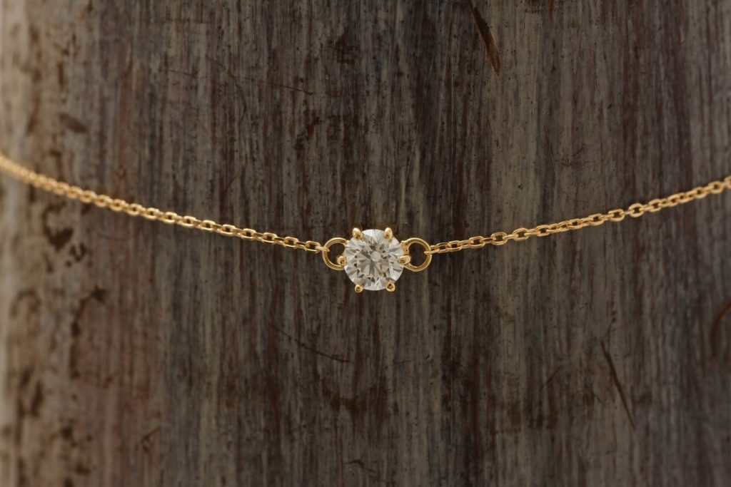 ダイヤモンドのブレスレットです!